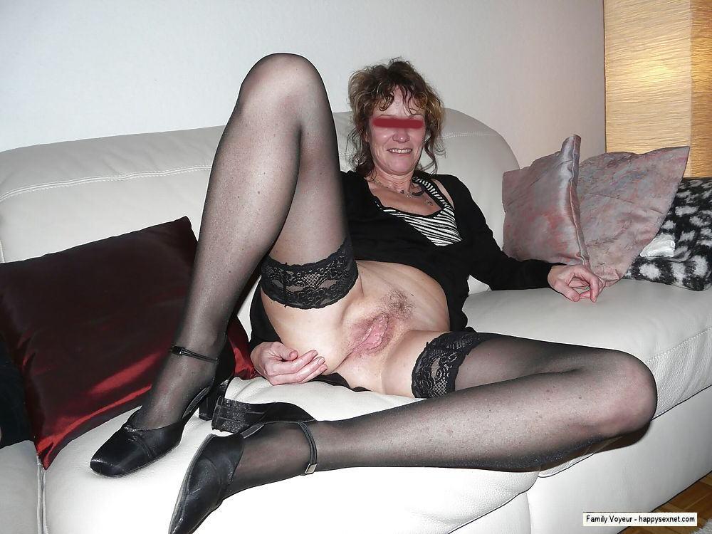 Mom caught masturbating in front of step son